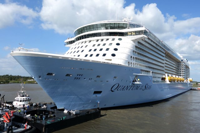 Royal Caribbean's Quantum of the Seas will be our home for two quick nights in November. Photo courtesy of Royal Caribbean.