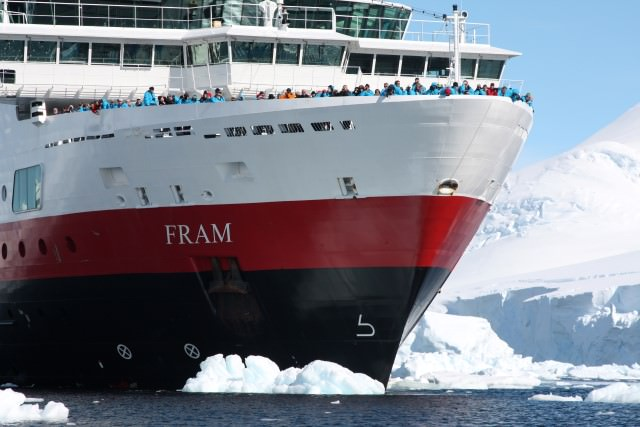 Photo courtesy of Hurtigruten.
