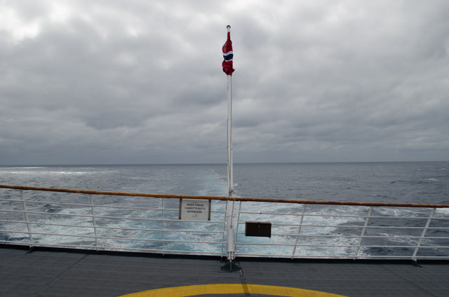 At sea on the Drake Passage, bound for Antarctica. Photo © 2015 Aaron Saunders