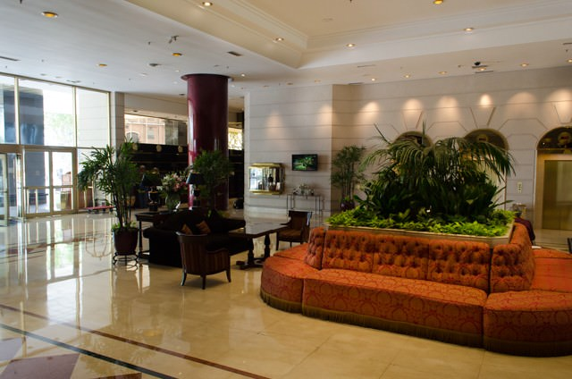 Our Home Away From Home: the Hotel Emperador Buenos Aires, conveniently located within walking distance to many of the city's major attractions. Photo © 2015 Aaron Saunders