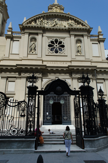 Churches and cathedrals are located on nearly every block in Buenos Aires. Photo © 2015 Aaron Saunders