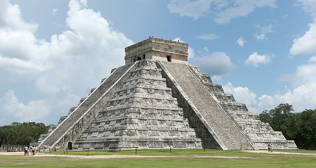 Our Western Caribbean itinerary will give us the chance to explore some of Mexico's ancient Mayan ruins. Shown here is Chichen Itza. Photo courtesy of Wikipedia / Creative Commons