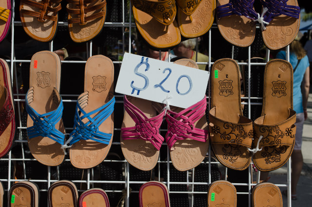 Sadly, no new shoes for me. Photo © 2015 Aaron Saunders