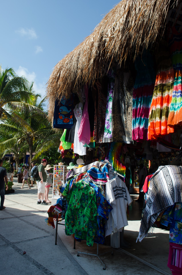 Costa Maya is heavily manufactured, but there are still some beautiful hand-crafted goods to be had. Photo © 2015 Aaron Saunders