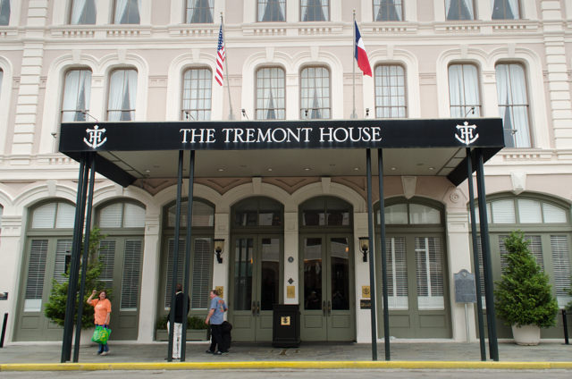 The Tremont House Hotel is located just two blocks from the cruise terminals. Photo © 2015 Aaron Saunders