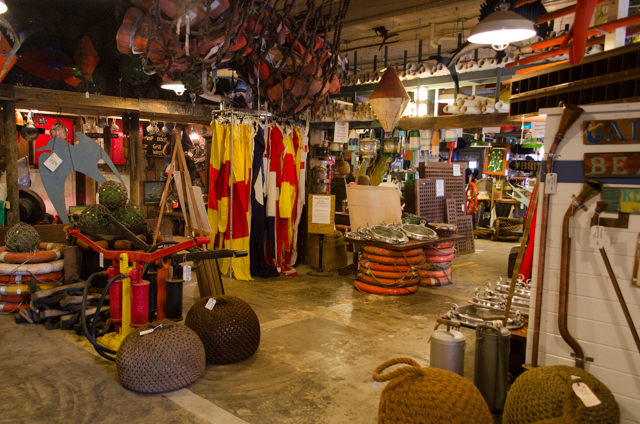A Most Dangerous Store: Nautical Antiques and Tropical Treasures in Galveston. Photo © 2015 Aaron Saunders
