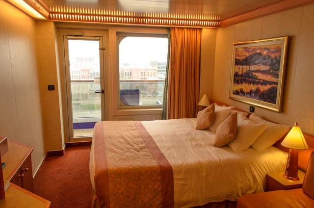 My Category 8C Balcony Stateroom. Photo © 2015 Aaron Saunders