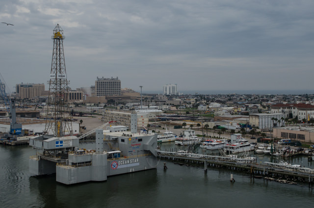 You can also tour a real offshore drilling rig in Galveston: the Ocean Star. Photo © 2015 Aaron Saunders