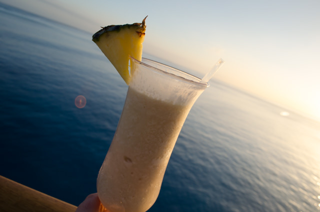 ...calls for a sailaway drink! Photo © 2015 Aaron Saunders