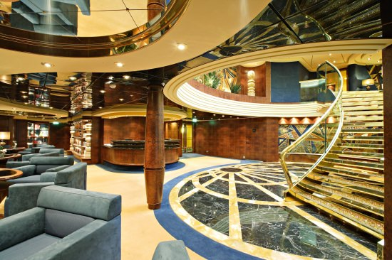 The luxurious MSC Yacht Club: MSC's ship-within-a-ship concept that pairs luxury amenities like full-sized suites, dedicated lounge and concierge service and complimentary beverages with the fun of being on a big ship. Photo courtesy of MSC Cruises.