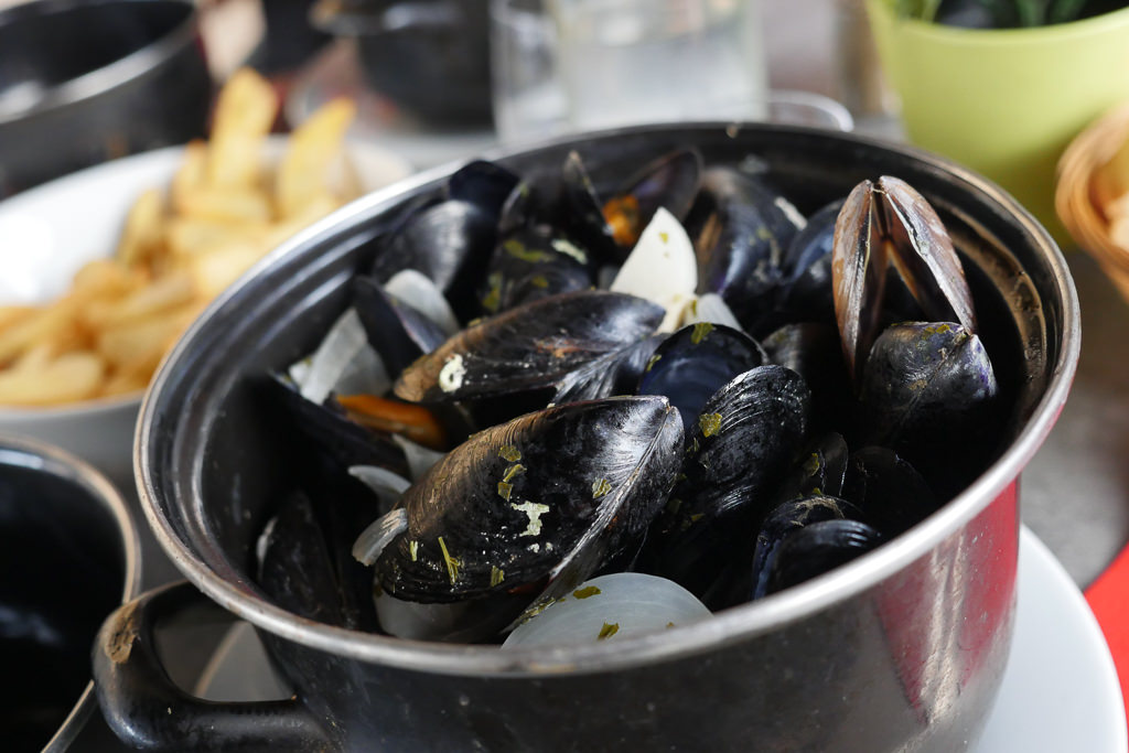 mussels in Marseille