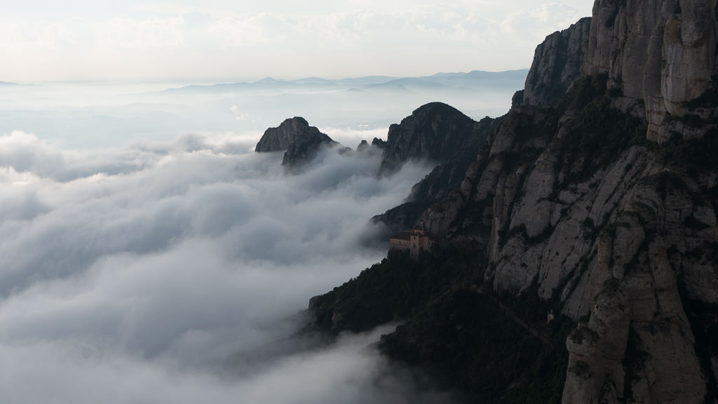 A mystical morning in Montserrat. © 2014 Ralph Grizzle