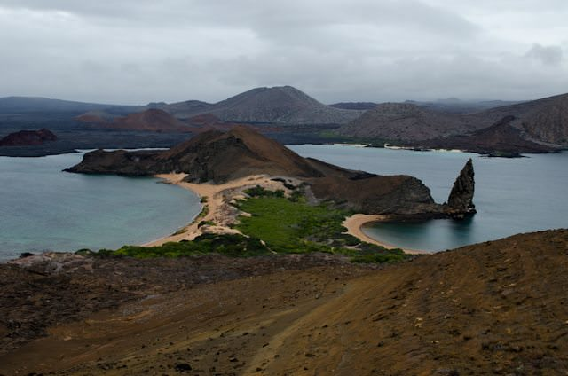 ...while Silver Galapagos is anchored off Bartolome, Galapagos Islands, Ecuador. Silversea has shown me more of the world's most interesting and off-the-beaten-path itineraries than any other cruise line - and it's the reason I sail with them again and again. Photo © 2014 Aaron Saunders