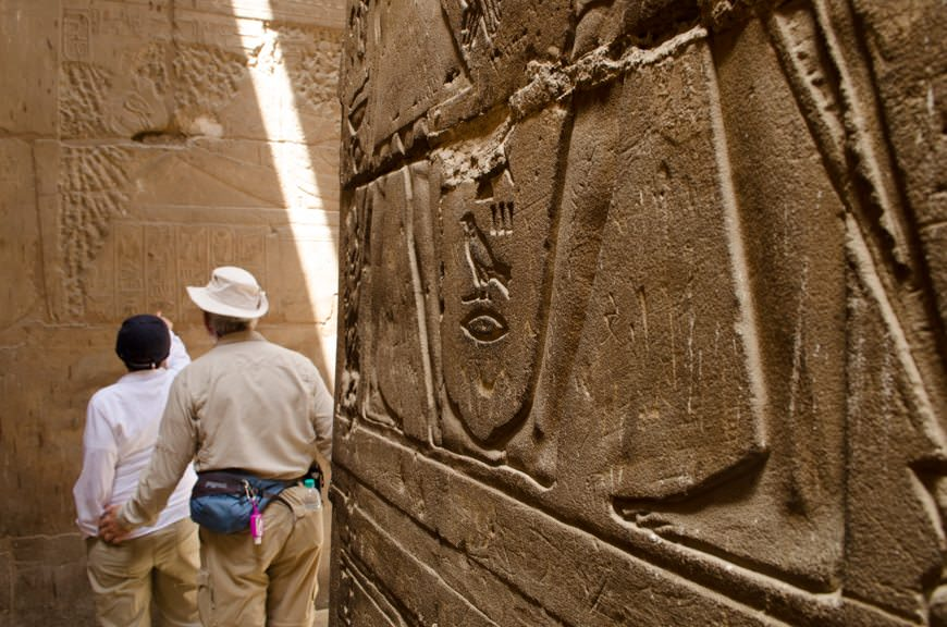 Unlocking the ancient mysteries of Egypt today with Silversea Cruises. Photo © 2015 Aaron Saunders