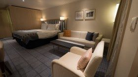 My stateroom. © 2015 Ralph Grizzle