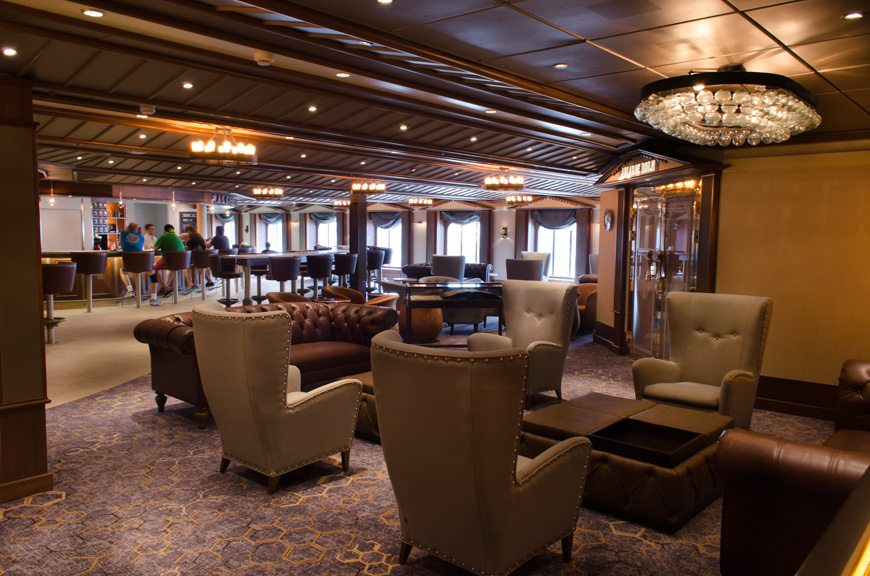 Carnival Miracle underwent a significant refurbishment in March that added, among other things, the popular Alchemy Bar. Photo © 2015 Aaron Saunders