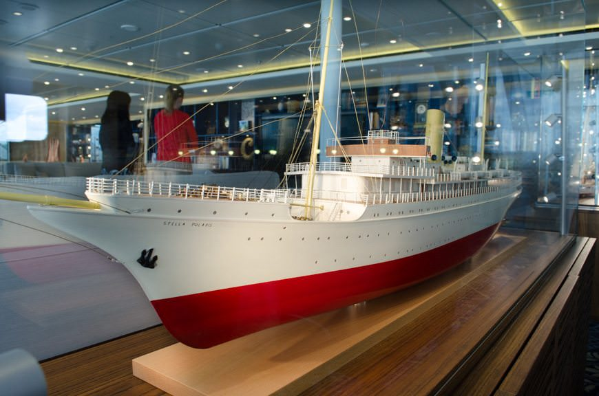 ...along with some fabulous models of influential Norwegian ships. Photo © 2015 Aaron Saunders