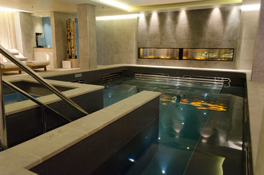 Luxury touches are everywhere throughout the Viking Star. Did you know the pool in the LivNordic Spa is offered for no extra charge? Photo © 2015 Aaron Saunders