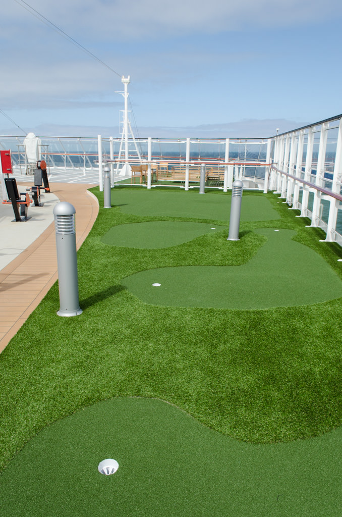 ...and a mini-golf course. Photo © 2015 Aaron Saunders