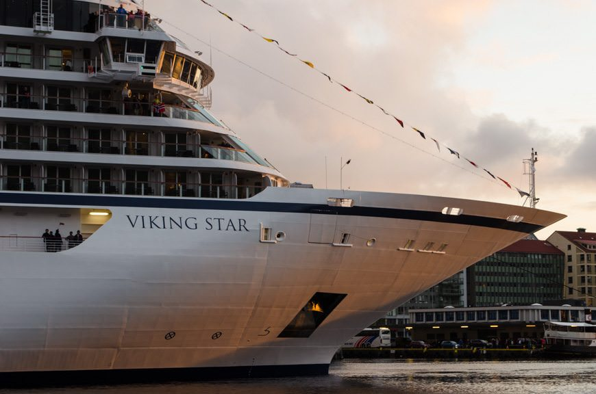 Viking Sea will be the sister-ship to 2015's Viking Star. Photo © 2015 Aaron Saunders