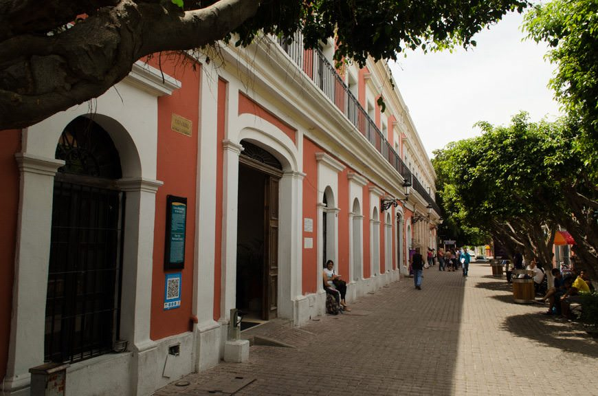 Walking the streets of Mazatlan's Centro HIstorico, or Historic District. This classic Mexican city offers plenty of things to do for travelers sailing with Carnival to the Mexican Riviera. Photo © 2015 Aaron Saunders