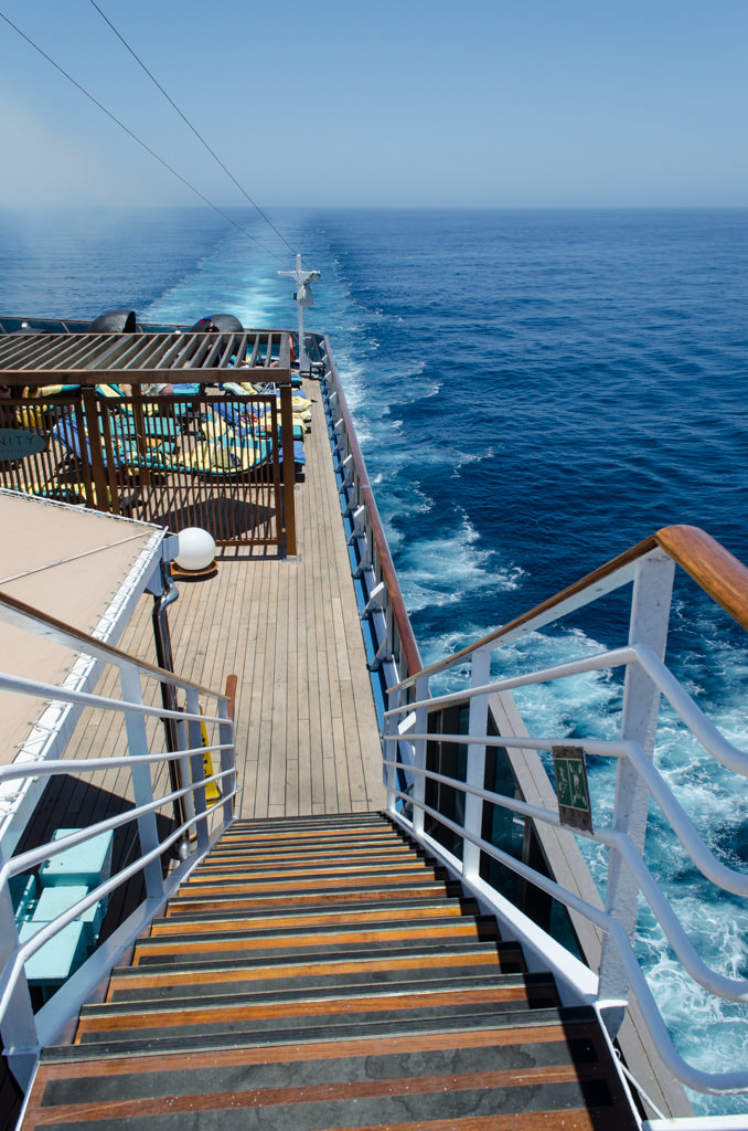 Cruising the Pacific Ocean on a gorgeous afternoon! Photo © 2015 Aaron Saunders