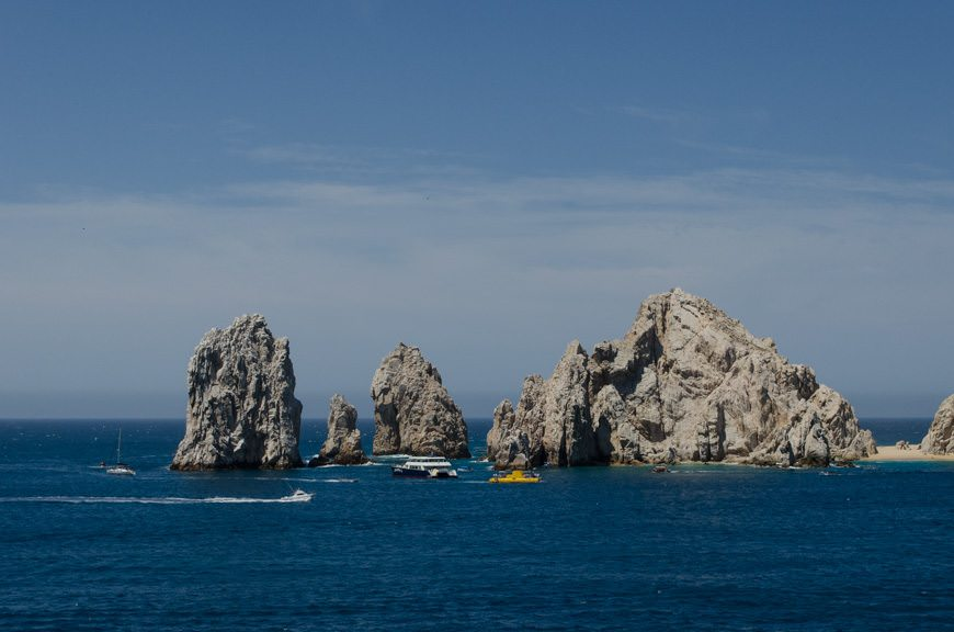 ...as we sail into Cabo San Lucas, Mexico!