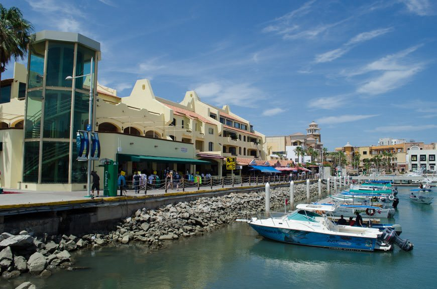 Yet, even with the development, Cabo is what it always has been: a relaxed, laid-back place to shop, eat lunch, and grab a beer. Photo © 2015 Aaron Saunders