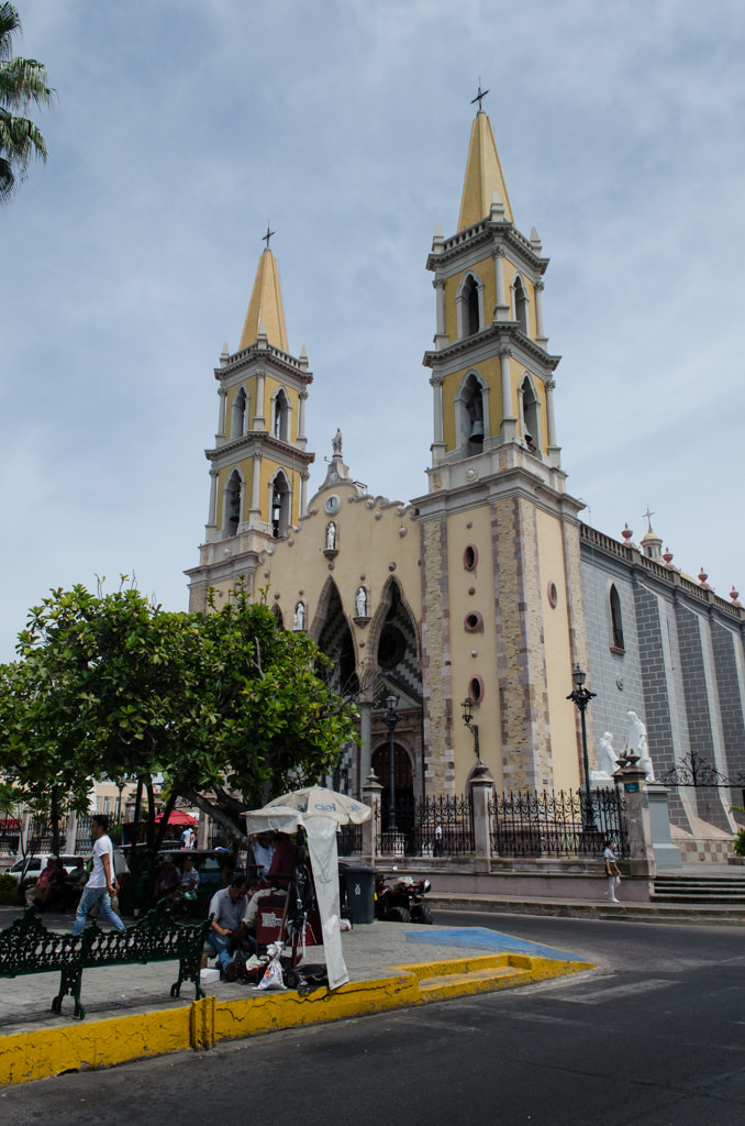 Mazatlan's Central Cathedral, located in the heart of Centro HIstorico, is a must-see. Photo © 2015 Aaron Saunders