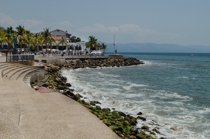 The Malecon changes subtly over the years, thanks to hurricanes that regularly sweep ashore. Photo © 2015 Aaron Saunders