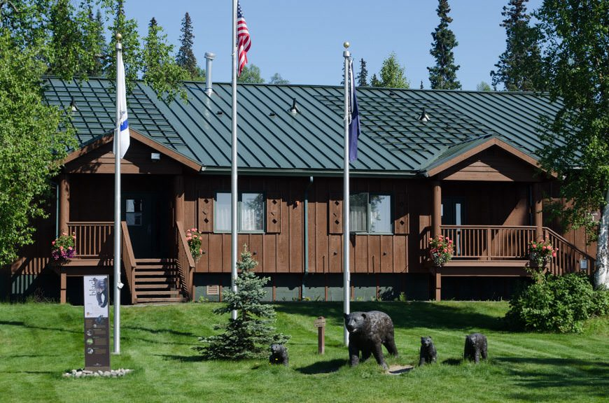 My accommodations were in the first building directly opposite the lodge. Convenient! Photo © 2015 Aaron Saunders