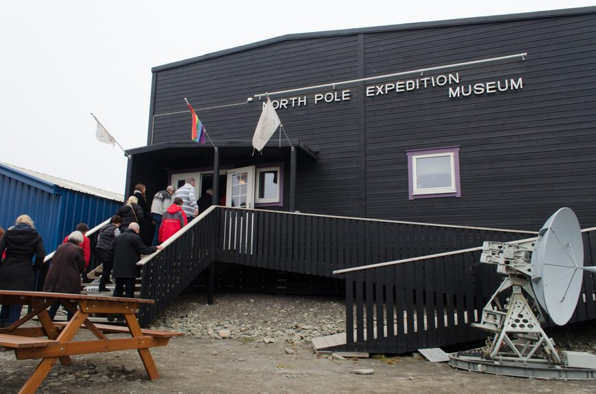 The surprisingly-fabulous North Pole Expedition Museum in Longyearbyen...Photo © 2015 Aaron Saunders