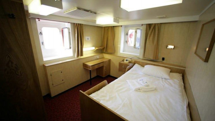 """The """"Suite Life"""" aboard 50 Years of Victory. Photo courtesy of Wikipedia / Creative Commons"""
