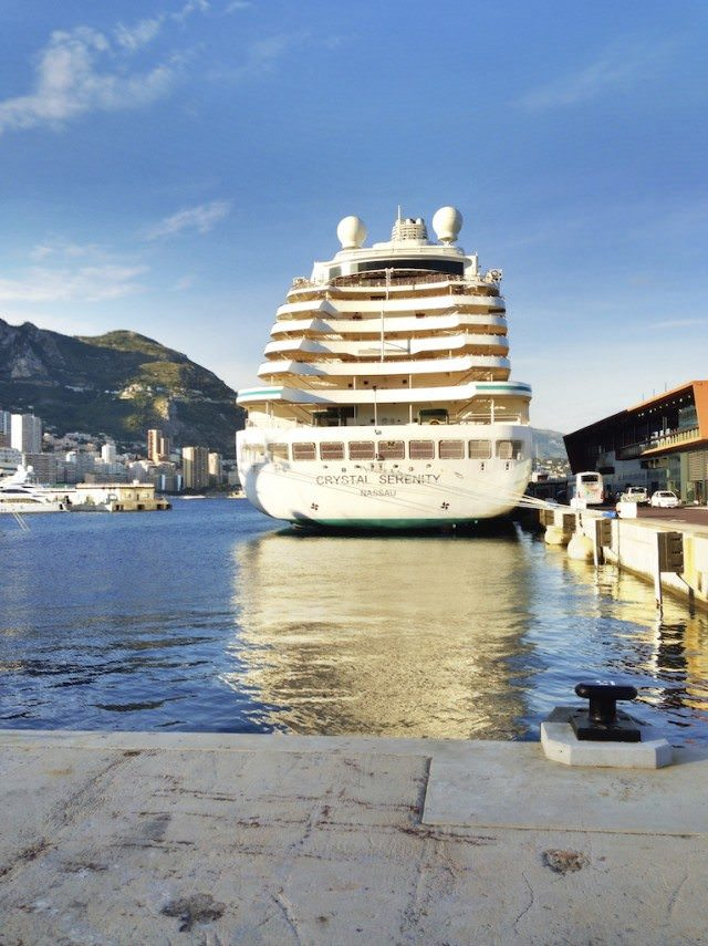 Next Up, On Crystal Symphony With The President & Exploring Greenland With Silversea