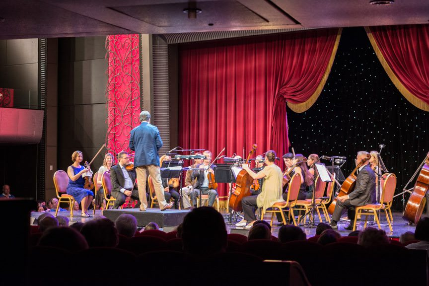 ...to see conductor Anthony Inglis and the National Symphony Orchestra perform again this morning. Photo © 2015 Aaron Saunders