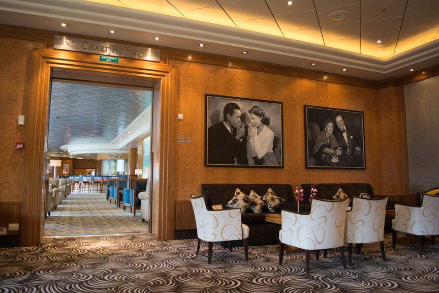 Other public rooms will be revitalized, but Queen Mary 2's sense of grandeur won't change. Photo © 2015 Aaron Saunders