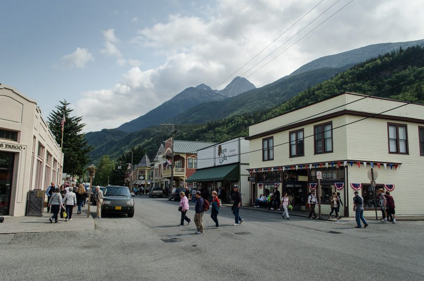 The Streets of Skagway. Photo © 2015 Aaron Saunders
