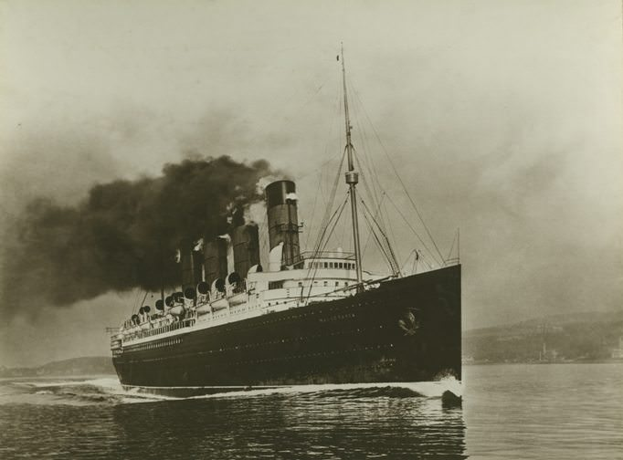 Cunard's Mauretania of 1906 carried hundreds of thousands of passengers across the Atlantic until she was withdrawn from service in 1934. Photo courtesy of Wikipedia / Creative Commons