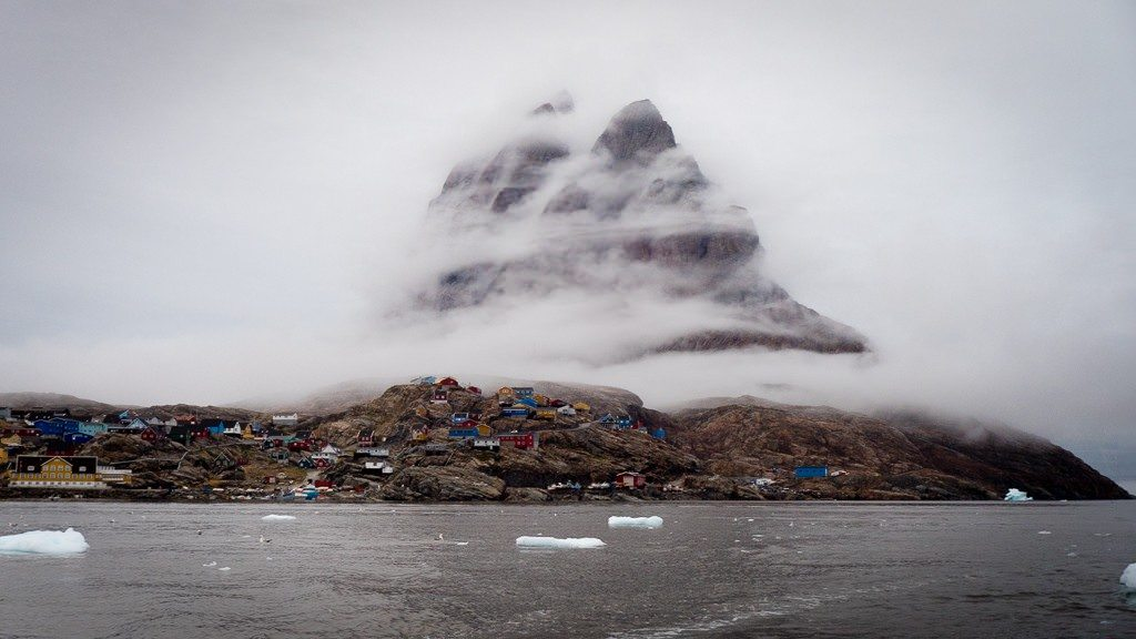 The town of Uummannaq. ©2015 Ralph Grizzle