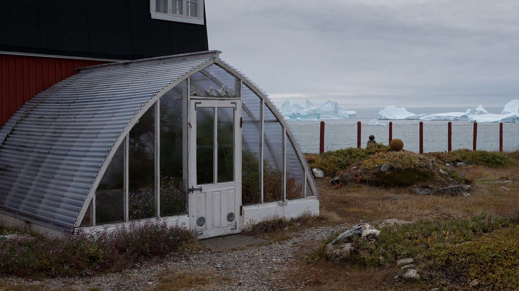 World's northernmost greenhouse? ©2015 Ralph Grizzle