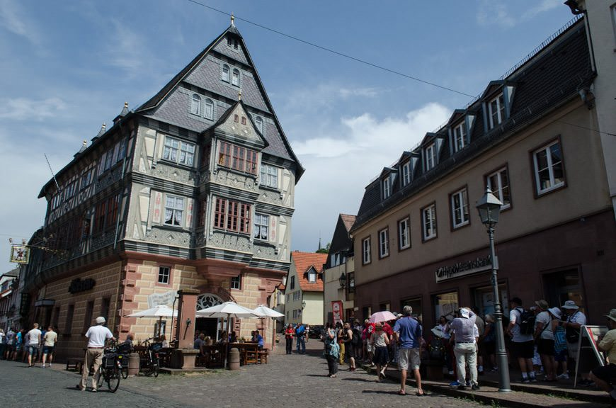 Miltenberg, Germany - with the oldest inn in the country. Photo © 2015 Aaron Saunders