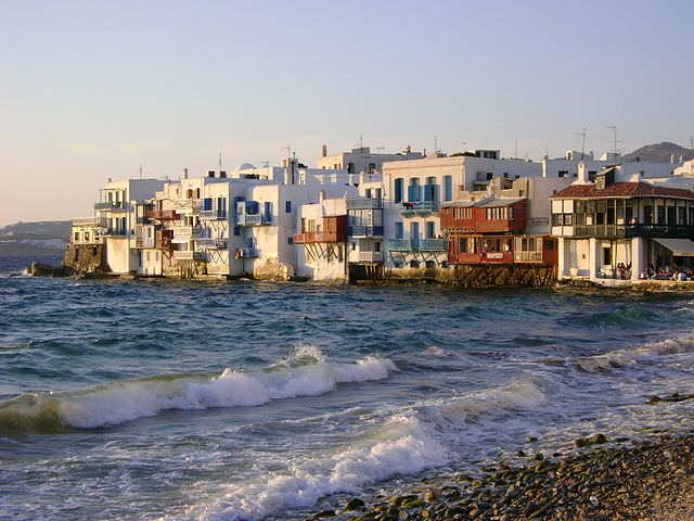 Mykonos, Greece is one of the most iconic of the Greek Islands. Photo courtesy of Wikipedia / Creative Commons