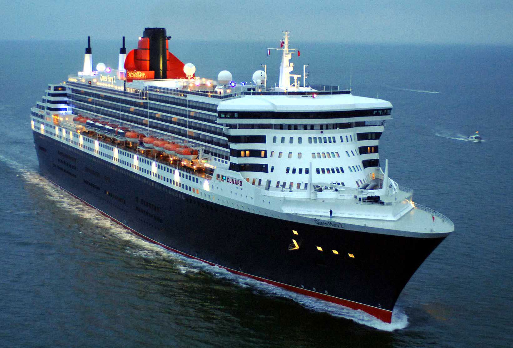 Cunard's Queen Mary 2: the only modern transatlantic ocean line. Photo courtesy of Cunard Line.