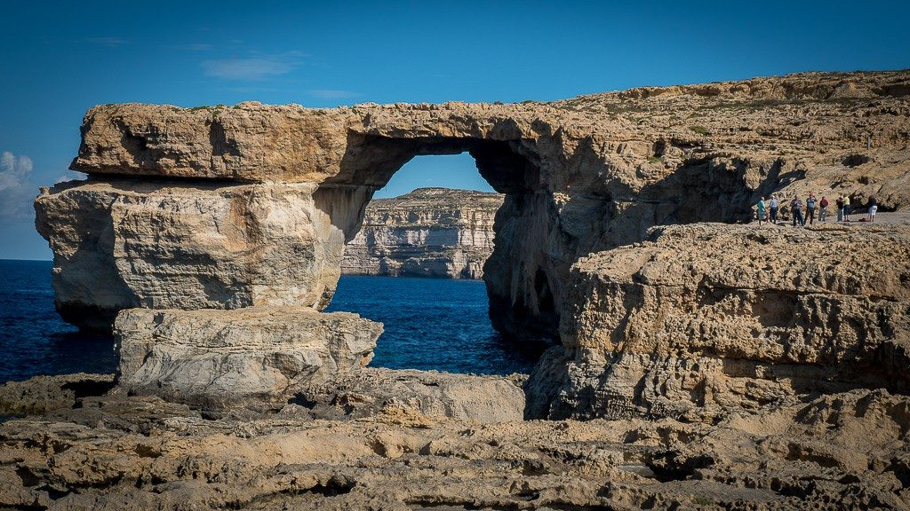 Azure Window in Malta. © 2015 Avid Travel Media Inc.