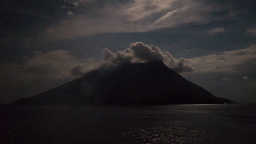 Stromboli volcano in Italy. © 2015 Avid Travel Media Inc.
