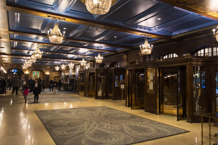 ...hides a world of opulence (and a fabulous refurbishment) inside. Photo © 2015 Aaron Saunders