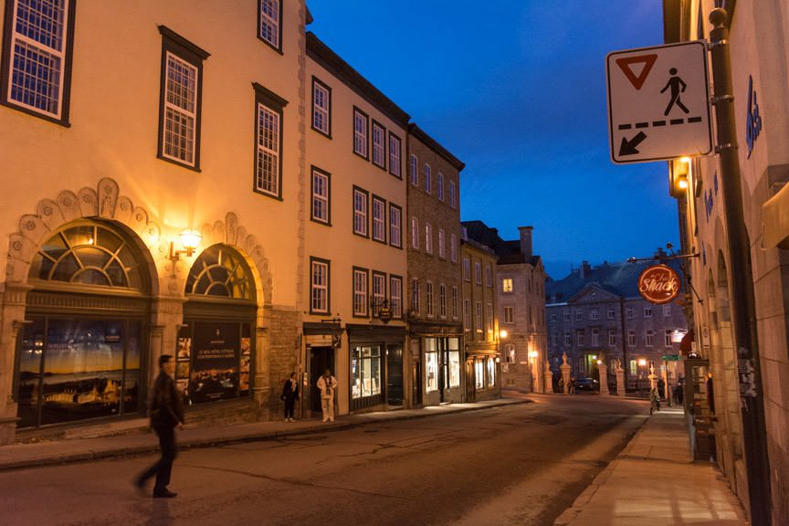 The Streets of Old Quebec. Photo © 2015 Aaron Saunders