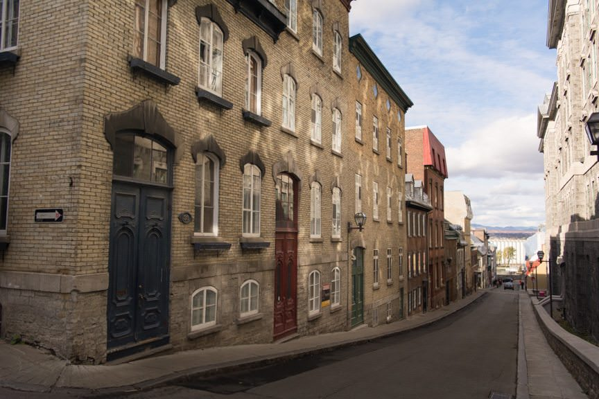 Exploring Vieux - or Old - Quebec! Photo © 2015 Aaron Saunders