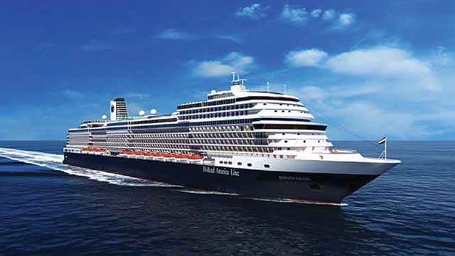 Koningsdam sets sail in April of 2016. Illustration courtesy of Holland America Line