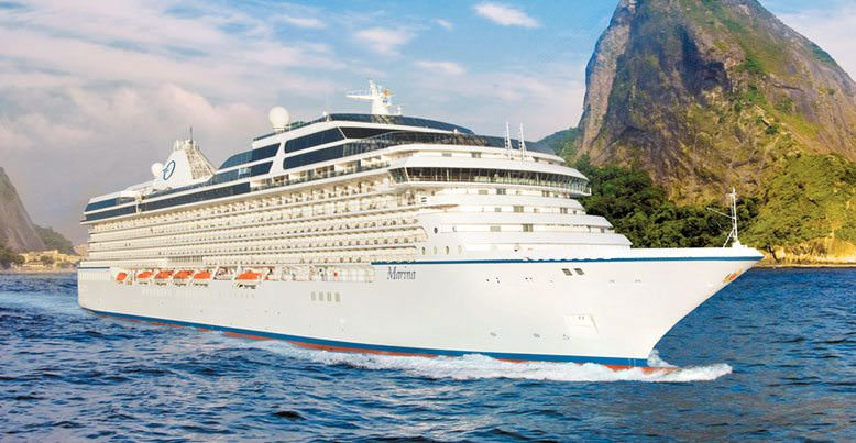Oceania Marina will host two very unique voyages to the Mediterranean next year. Photo courtesy of Oceania Cruises